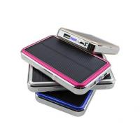 China 2015 Newly Portable Solar Charger 30000mAh with LED Camp Lights wholesale