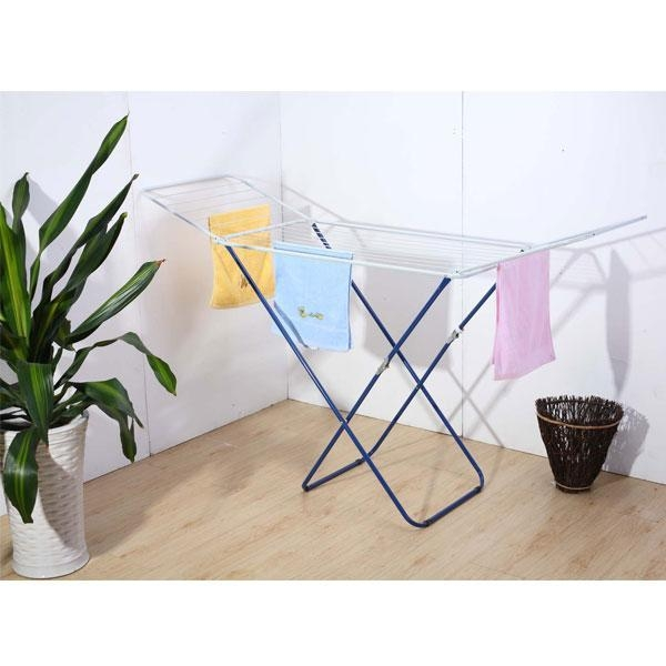 Quality 18M Foldable Metal Clothes dryer rack for sale