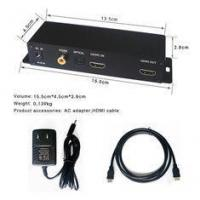 China 3840 X 2160P 4K Digital Signage Player HDMI SPDIF Switch Box For Hotels wholesale