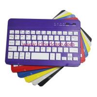 China BT15 7inch Slim Bluetooth Keyboard Compatiable with Apple OS,Windows, Android,6Colors.Hot Selling wholesale