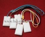 RFID transparent passive jewelry tag Manufactures