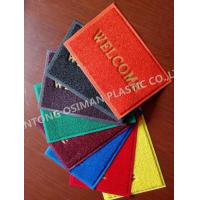 Vinyl mat firm backing floor mat,pvc cushion mat Manufactures