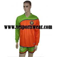 100% polyester customized football kit Manufactures