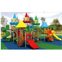 (HD-2001)House Castle Slides heavy duty outdoor playground equipment