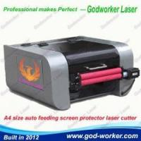 40W automatic mobile screen protector laser cutting machine