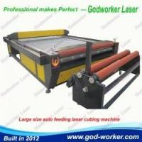 China GW-2030 Automatic Feed Laser Cutting Machine for Garments Cloth on sale