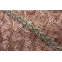 China Newest shining bridal sash applique trimming for wholesale wholesale