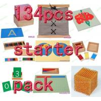 China Montessori material Mathematics -134pcs starter pack wholesale