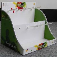 yacai283 foldable cardboard counter display box Manufactures
