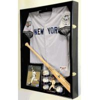 Extra Deep Jacket, Uniform, Jersey Shadow Box Display Case Cabinet w/ UV Protection4 WOOD COLORS! Manufactures