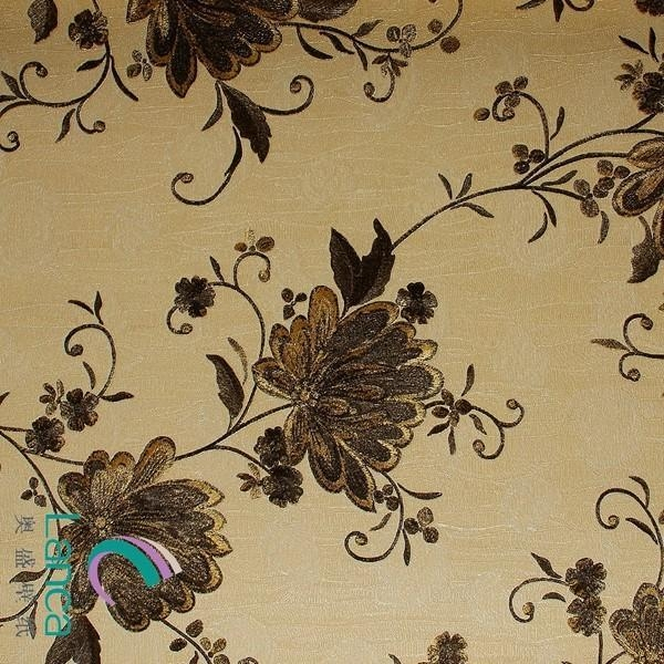 Quality Factory Price Custom Printing Flower Design Living Room Wallpaper LCPE081 888801 for sale