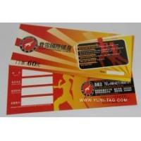 China Electronic tags RFID tickets for games on sale