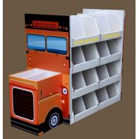Buy cheap School bus shape stationery floor display stand from wholesalers