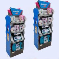 Buy cheap Cell phone accessory cardboard floor display rack from wholesalers