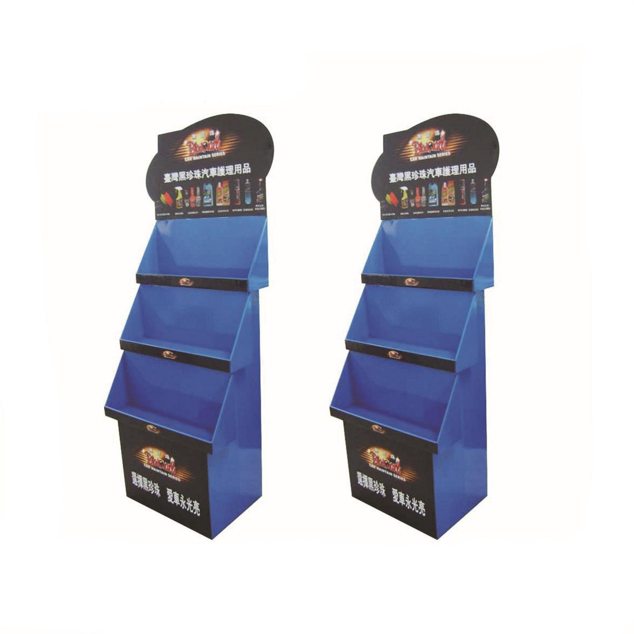 Small bear hot sale cardboard advertising book display stands or shelf Manufactures