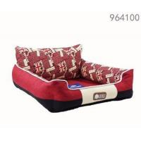China best selling products dog red color kennel luxury dog sofa beds for large dogs on sale
