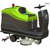 China dual-brush ride-on scrubber dryer wholesale