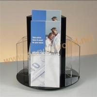 Jewellery display stand revolving pmma brochure display stand Manufactures