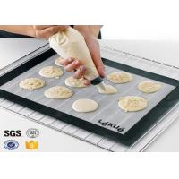 PTFE / Teflon Non Toxic Baking Sheet BBQ Heat Proof Silicone Mat Manufactures