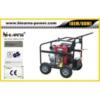 China Portable 4-stroke air-cooled diesel water pump wholesale