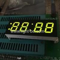 China Super Green 0.4 4 digit 7 segment led clock display for microwave control on sale