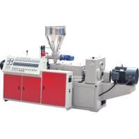Buy cheap Plastic Extruder Conical Twin Screw Extruder from wholesalers