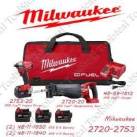 Milwaukee 2720-2753 M18 Fuel Combo Kit 2720-2753