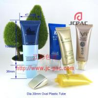 30mm Oval Flat Plastic Packaging Tube Manufactures