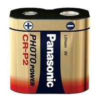 Panasonic CR-P2 Battery - 6V Lithium Camera Photo Manufactures