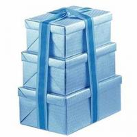 CC-PBX064 Printed paper gift box set with fancy paper Manufactures