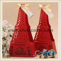 CC-PBX394 Eiffel Tower shaped hollow out chocolate box Manufactures