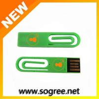 China Clip-shaped USB Flash Drives with Over 10 Years Data Retention on sale