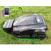 remote control lawn mower for sale Updated with Smartphone WIFI APP and Water-proofed charger Manufactures