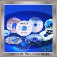 Professional Good Quality DVD Printing,DVD Offset Pressing With Printing and Packing Service Manufactures