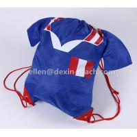5# Creative Blue Sweat Shirt Backpack Bags with Drawstring Manufactures