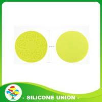Promotion Cheap Round Silicone Mat/Coaste Manufactures