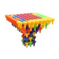 Kids educational peg toy plastic ABS 3D diy toy Manufactures