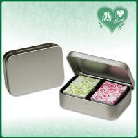 Tin Box for Double decks mini Playing Cards (T122) Manufactures
