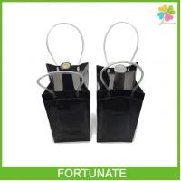 China Plastic Translucent PVC Wine Cooler Bag for 750mL on sale