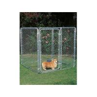 hot dipped galvanized or pvc coated chain link fencing function Dog Kennels Manufactures