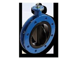 China Rubber Seat Flange Butterfly Valve wholesale