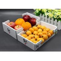 China Customized Size Corrugated Packaging Box with Handle Cardboard Box for Fruit and Vegetable on sale