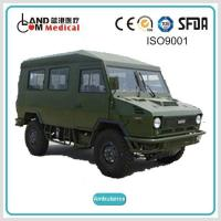 China TypeⅡ4 4 / 4WD Off Road Right Hand Drive / RHD Iveco Diesel Ambulance wholesale