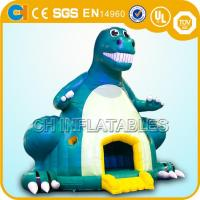 China inflatable dinosaur bounce houses,Giant inflatable dinosaur bouncy castles,Jumping castles wholesale