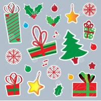 China Xmas Wall Window Stickers For Christmas Gifts on sale
