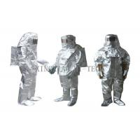 China High Temperature Aluminized Fire Proximity Protective Clothing Suit Thermal Insulation on sale