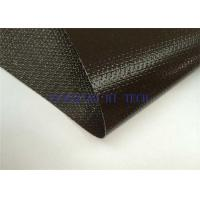 China Different Colors Silicone Coated Fiberglass Fabric , Silicone Coated Lightweight Fiberglass Cloth wholesale