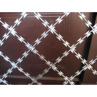 China Welded Razor Barbed Wire Fence on sale