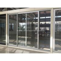 China FL100 Series Commercial 2 Sashes Aluminum Sliding Door With AS2047 Standard on sale