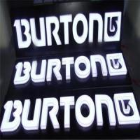 China Outdoor LED Embedded Acrylic Letters Signs on sale